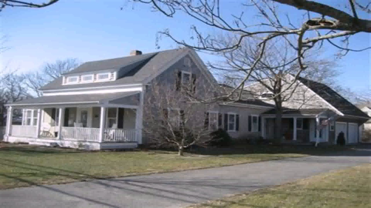 Home addition cape cod style house youtube for Cape cod home additions