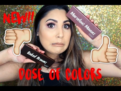 *NEW* DOSE OF COLORS PALETTES REVIEW + SWATCHES