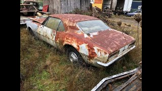 Junkyard 1967 Camaro RS Gets A Wash For The First Time In Years