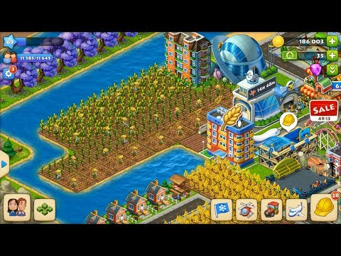 Township Level 69 update 10 HD 1080p