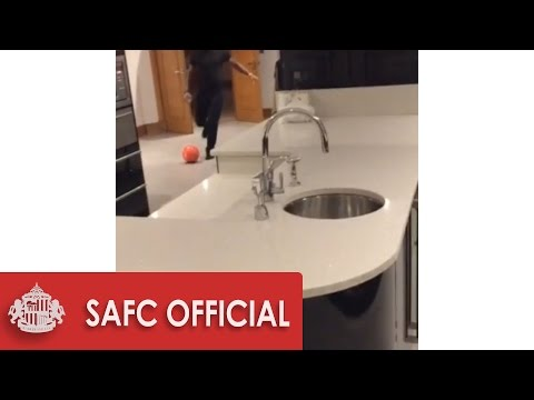 SKILLS: How Jermain Defoe makes a glass of water