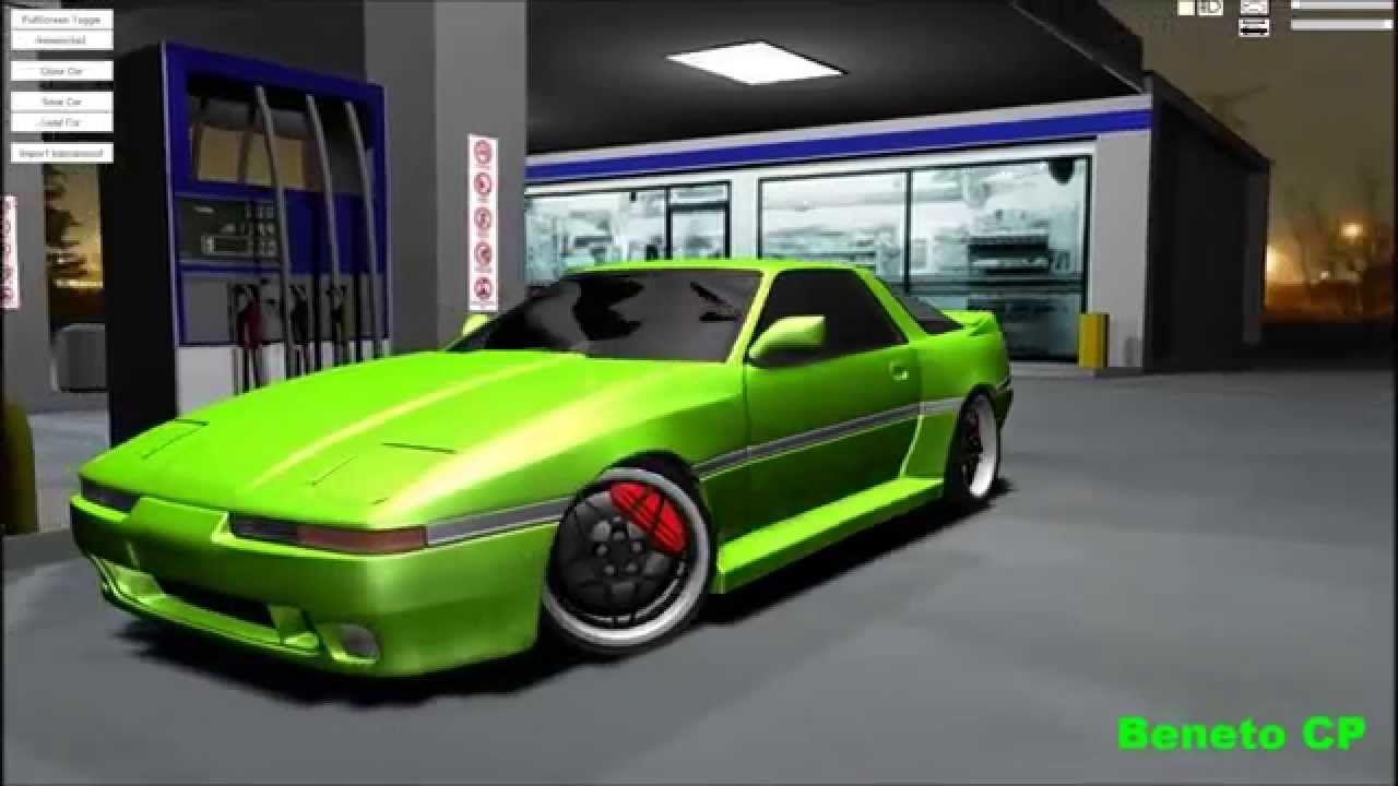 Toyota Supra 1987 Tuning >> Toyota Supra MK3 - virtual tuning project 1. - YouTube