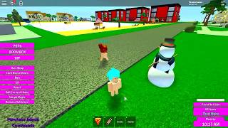 BABY RABBIT AND THUNBER ARE NAKED?! -ROBLOX