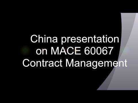 China presentation on Dr. Peter Fenn's class (2016)