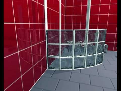 BLOCK LOCK 360 -  Curved Glass Blocks Wall System