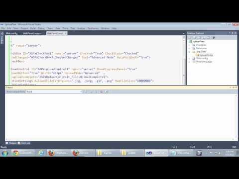 ASP.NET Upload Control - Upload Large Files