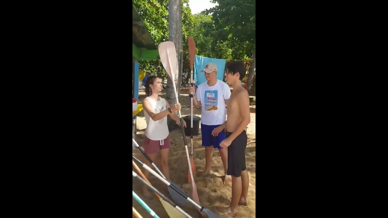 Kayak et Stand-up paddle à Deshaies (Grande-Anse Guadeloupe)