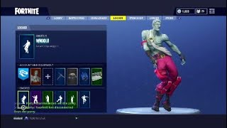 New Fortnite dance *Wiggle* showcase 20+ skins