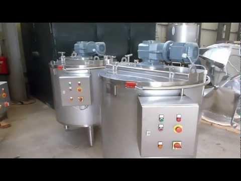 Mengtanks - Mischbehalter - mixing tanks - cuves de melange