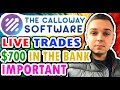 The Calloway Software - RESULTS - TRADING - WITHDRAWAL IN THE BANK 🎈