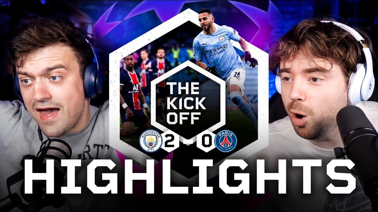 Man City make their FIRST Champions League Final