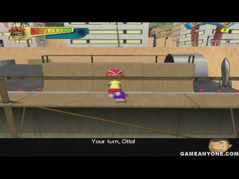 "Rocket Power: Beach Bandits - [HD] - Part 02 - [Level 02 - ""Halfpipe Skate Challenge""]"