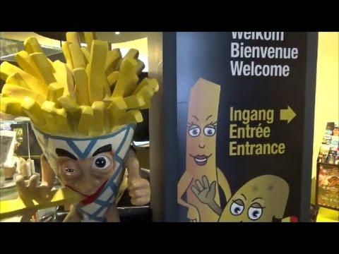 Friet (Fries) Museum - Bruges, Belgium - Walkthrough