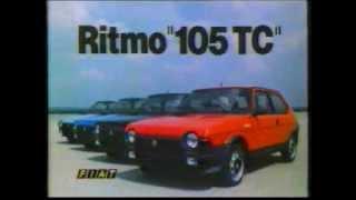 anuncio Fiat Ritmo 105Tc