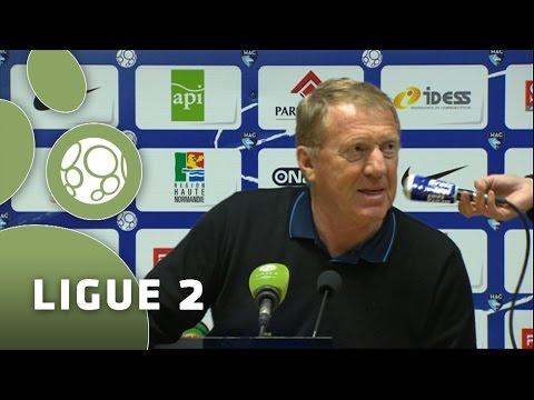 Conférence de presse Havre AC - Stade Brestois 29 (1-1) - 2014/2015