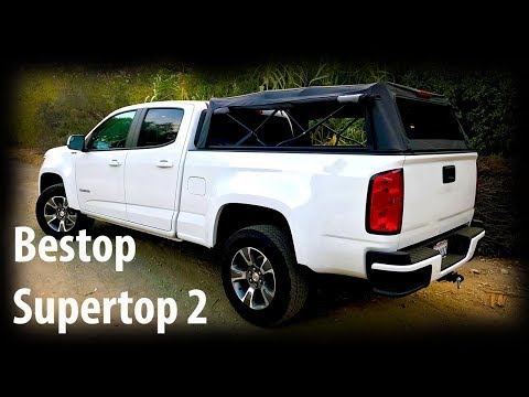 Bestop Supertop 2 Review And Install Removable Truck Bed Topper Youtube