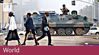 Zimbabwe under military control