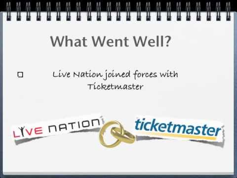 Ticketmaster and Live Nation Merger