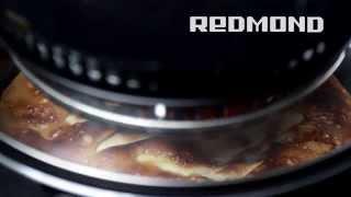 Шарлотка с яблоками, видео рецепт для аэрогриля REDMOND RAG-241 #4