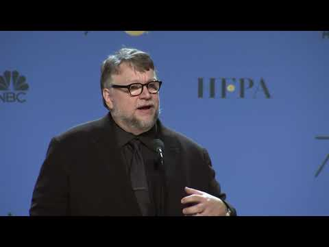Guillermo Del Toro - 2018 Golden Globes - Full Backstage Speech