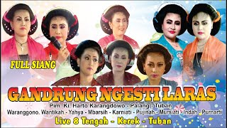 Tayuban Gandrung Ngesti Laras. ALL Artis Kondang LIVE  8 Tengah full siang