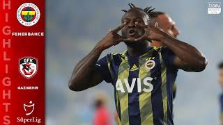 Fenerbahce 5 - 0 Gazisehir - HIGHLIGHTS AND GOALS