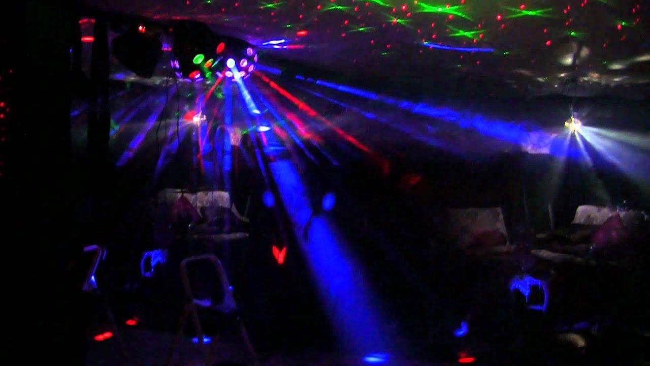 Basement Disco Lights American Dj Chauvet Laser Light