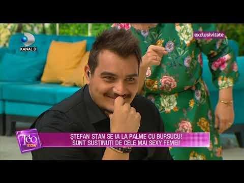 Teo Show (18.10.2017) - Stefan Stan s-a luat la palme cu Bursucu'! Partea III