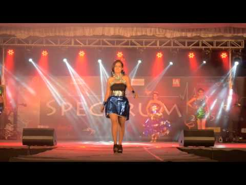 IISc Spectrum 2015 Fashion Show Team 8