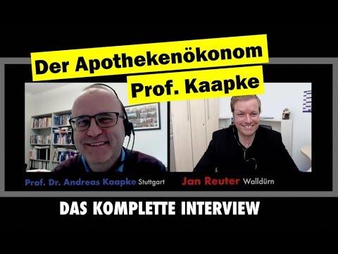 ✅ Apothekenökonom Prof. Kaapke  - das komplette Interview bei JAN TALKS 2018 -Apotheke neu gedacht