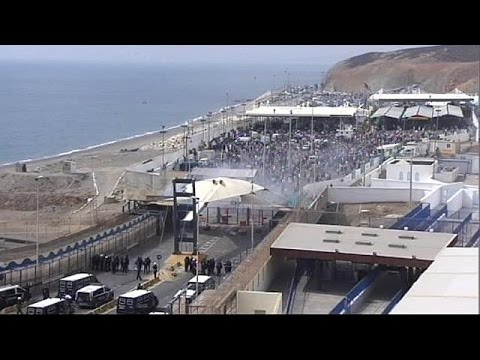 Morocco border crossing into Spanish Ceuta territory closed for hours