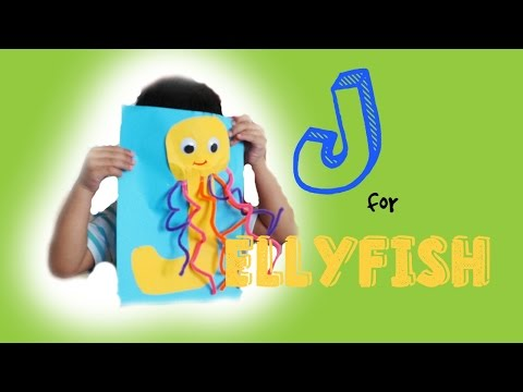 LETTER J ACTIVITY FOR KIDS | J For Jellyfish | A - Z Activity For Kids