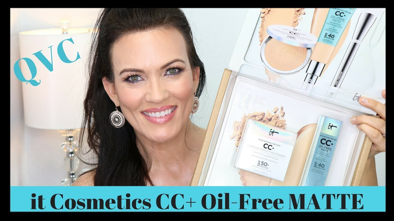 New It Cosmetics Cc Oil Free Matte Qvc Tsv Cc Your Most