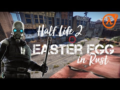 RUST: Half Life 2 Easter Egg in RUST! thumbnail