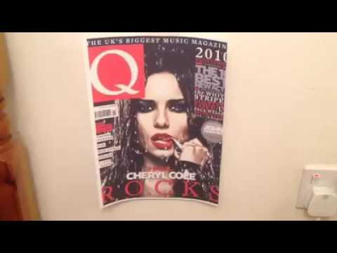 Front Cover Analysis - Q Magazine