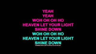 COLLECTIVE SOUL Karaoke acoustic cover of SHINE with words