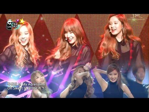 소녀시대-태티서 - Adrenaline stage mix (720p ver.)