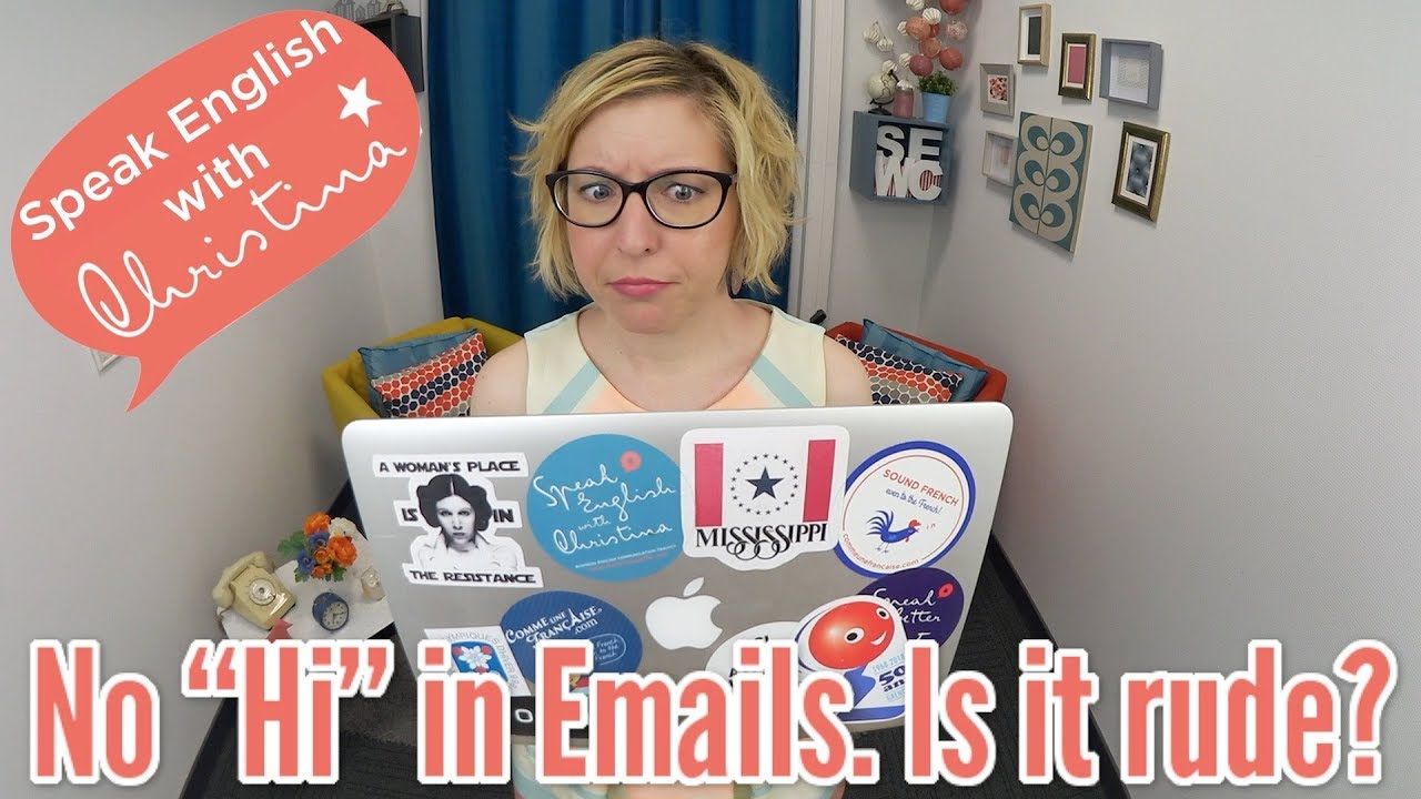 Business Email Etiquette Is It Rude Not To Use Email Greetings