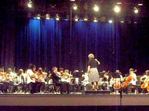 Wawona Middle School begining and advanced Orchestra at Fresno High