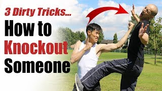 How to Knockout Someone - DIRTY Knockout Punch