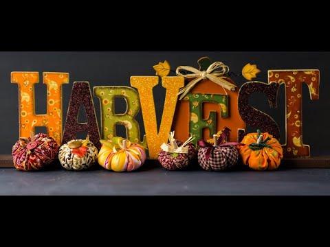 Harvest Celebration 10.30 4th Oct