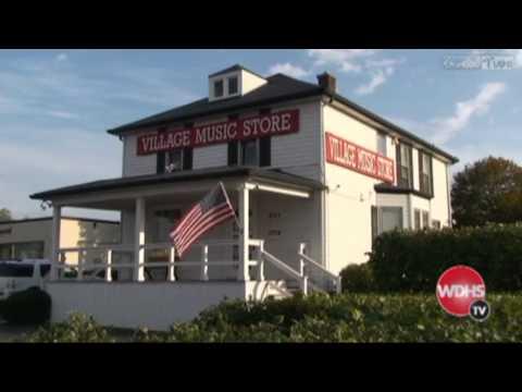 Village Music Store on Warrior Wake-up TV Show