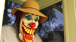 Killer Creepy Clown IT Chases Kids Home Creepy Clown Part 1