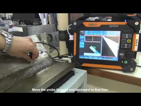 SIUI Phased Array Flaw Detector SyncScan Angle Weld Solution
