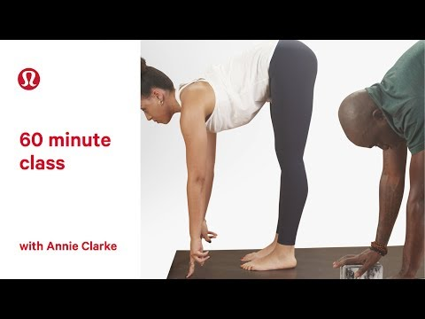 Yoga for Beginners | 60 Minute Class with Annie Clarke | lululemon