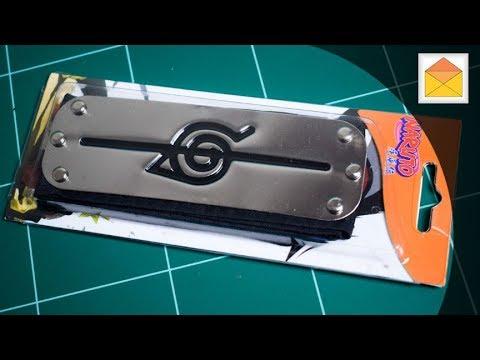 Naruto Hedband L Size Anti-Konoha Hidden Leaf Village Itachi Bandana In  Hand Review 50e2e57b4fc