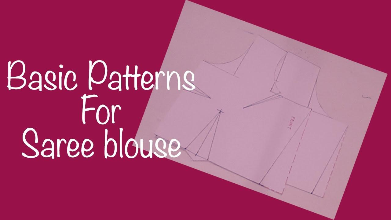 saree blouse basic patterns youtube jeuxipadfo Image collections