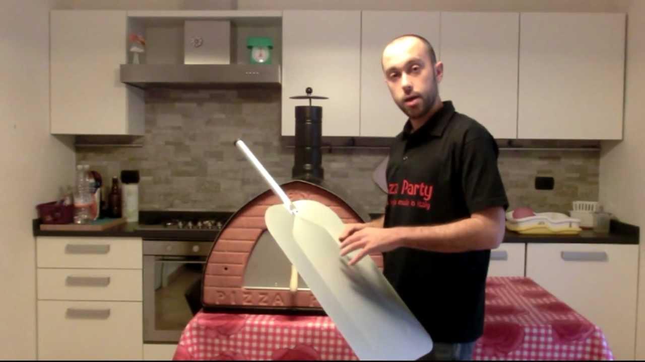 PALA lunga PER PIZZA AL METRO accessori per forni a legna