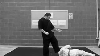 Mae-Geri Kaeshi Waza (Ashi Guruma) Front Kick Counter Technique (Leg Wheel)