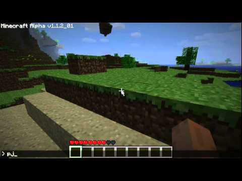 Minecraft Single Player Console Commands Mod Test - YouTube on